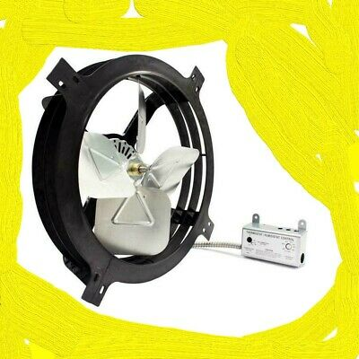 Air Vent 18-in Dia Electric Gable Vent Fan 1620 CFM up to 2300sq ft - 53320