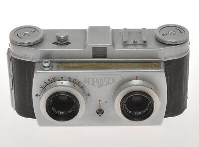Belca, Belplasca 35mm stero camera not complete and not in working order, exc++