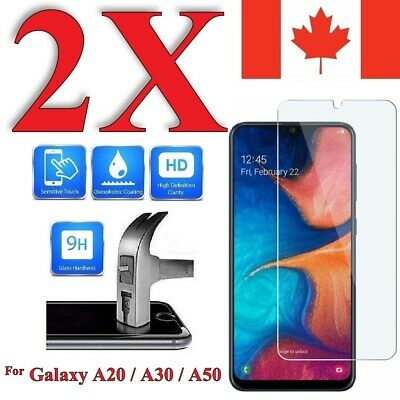 Premium Screen Protector For Samsung Galaxy A20 / A30 / A50 (2 PACK)