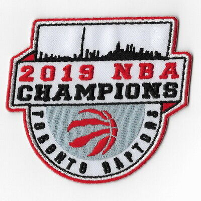 NBA Champions 2019 Toronto Raptors Iron on Patches Embroidered Final Patch C