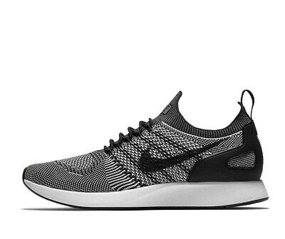 Nike Air Zoom Mariah Flyknit Racer Mens Running Shoes Black Pure Platinum