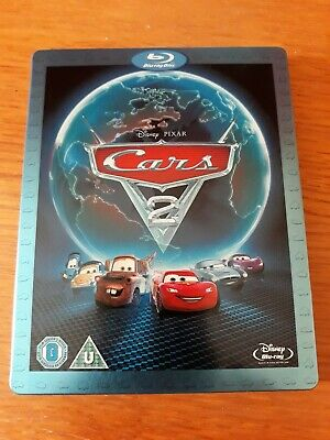 Cars 2 Blu Ray Steelbook - Owen Wilson - Disney Pixar