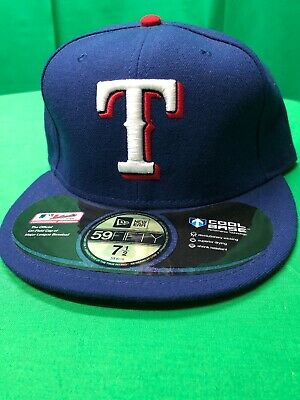 brand new d7cba b8e0c New Era Texas Rangers GAME 59Fifty Fitted Hat (Royal Blue) MLB Cap Size 7