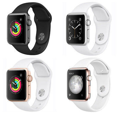 Apple Watch Series 3 38mm GPS Space Gray , Silver , Gold Rose Gold