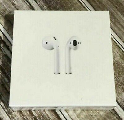 Authentic Apple AirPods 2nd Generation with Wireless Charging Case MRXJ2AM/A