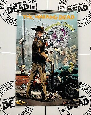 🔥The Walking Dead #1 Image Comic 15th Ann. Exclusive Variant / Slot 193