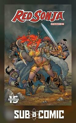 RED SONJA #6 COVER A CONNER (DYNAMITE 2019 1st Print) COMIC