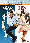 CHUBBY CHECKER -Double Feature (Don't Knock the Twist/Twist Around the Clock)DVD