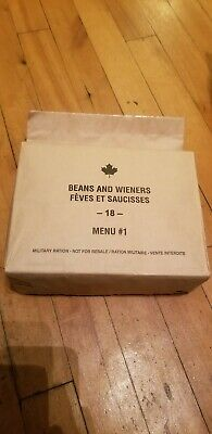 Canadian IMP MRE Meals Ready-To-Eat Beans and Wieners