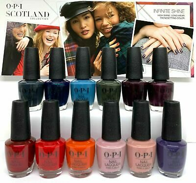 OPI Nail Lacquer- SCOTLAND Fall 2019 Collection - Pick Any color .5oz