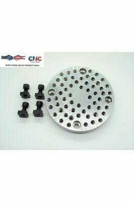 """Fixture Plate And Chuck Adapter For 4"""" Rotary Table"""