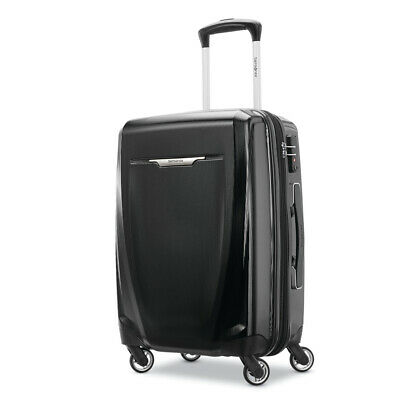 "Samsonite Winfield 3 DLX Spinner Hardside Luggage 20"" Carry-On (Black) - (120752"
