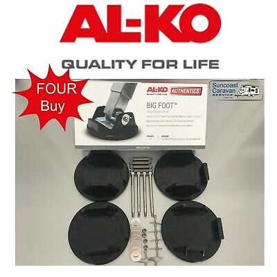 ALKO Big Foot Caravan Jack Steady Feet Set of 4 Caravan Legs Motorhome 655901