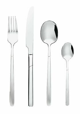 ARGOS HOME 16 Piece Clear Bubble Stainless Steel Cutlery Set