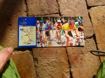 Stage 3 2000 Tour Down Under Postcard Special North Adelaide Postmark Cycling