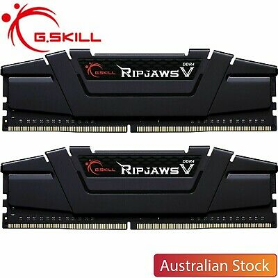 G.Skill Ripjaws V 16GB DDR4 3200MHz RAM Kit Gaming Desktop Memory 2X8GB CL16