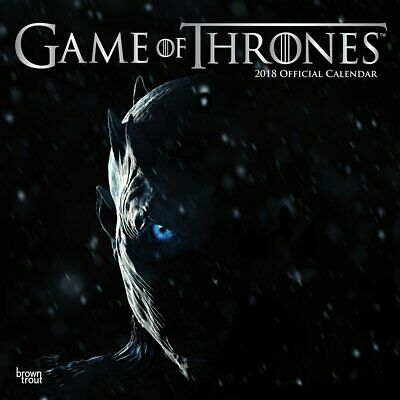 Game of Thrones 2018 Wall Calendar - New & Sealed