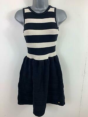 Girls Juicy Couture Black/White Casual Sleeveless Stretch Dress Size Kids Xl