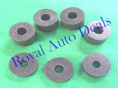 01-4996,01-4997 8 PETROL FUEL TANK MOUNTING RUBBERS.TOP QUALITY AJS MATCHLESS