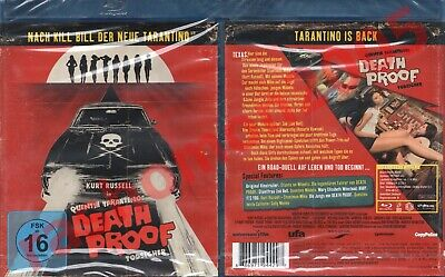 Blu-Ray DEATH PROOF 2007 Kurt Russell Zoe Bell Quentin Tarantino Region B/2 NEW