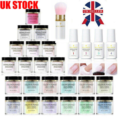 BORN PRETTY Dip Dipping Acrylic Powder Liquid Kit Powder Set Nail Art Decoration
