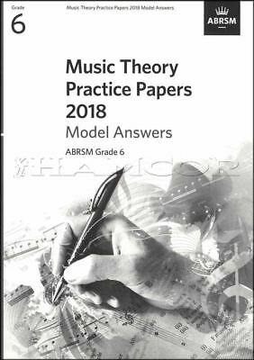 Music Theory Practice Papers 2018 Model Answers ABRSM Grade 6 SAME DAY DISPATCH