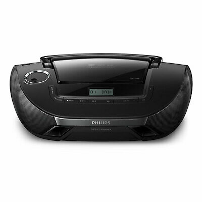 Philips AZB 1839/12 CD-Soundmachine MP3 DAB+ Radio UKW Tuner USB CD-Shuffle