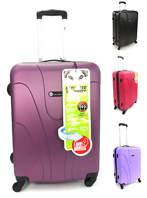 Light 4 Wheel Spinner Hard shell 26 Inch Trolley Suitcase Luggage Case Cabin Bag