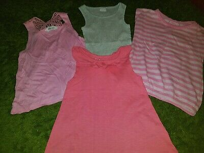 Girls Tops Aged 5/6 Years Bundle of 4