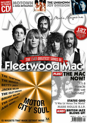 Mojo: The Music Magazine, May 2019, No. 306 with Motor City Soul CD  NEW