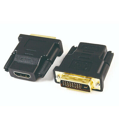 HDMI Female To DVI-D Male (24+1) Pin Cable Converter Adapter For PC TV Monitor
