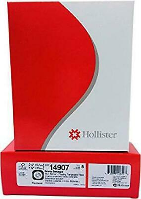 "Hollister 14907 New Image Pre-Cut Skin Barrier 2 1/4"" Flange 1 3/8"" Stoma 5/Bx"