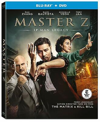 MASTER Z: IP MAN LEGACY (2019) [Blu-ray+DVD] New !! Pre -order for July 23