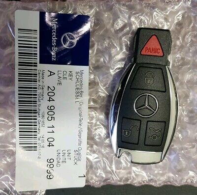 Original Mercedes Benz Remote key fob OEM New A2049051104 9999 Virgin IYZDC07