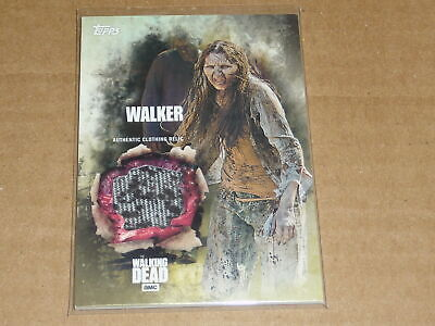2016 Topps THE WALKING DEAD SEASON 5 WALKER CLOTHING RELIC SWATCH E3254