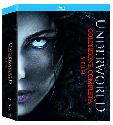 Underworld - Complete Collection (5 Blu Ray) con Kate Beckinsale