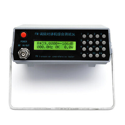FM Intercom Comprehensive Tester RF Signal Générateur 1-470 MHz Trunking Tester