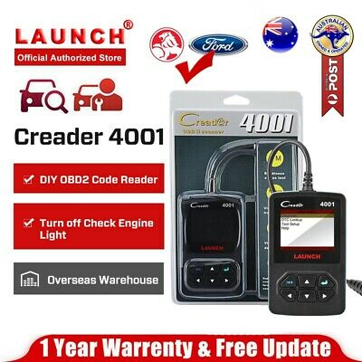 Launch Diagnostic Scanner Tool OBD2 OBDII CAN Code Reader For AU Ford Holden BMW