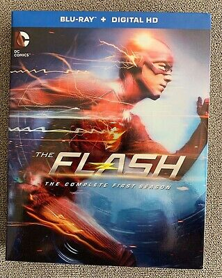 The Flash: The Complete First Season (Blu-ray Disc, 2015, 4-Disc Set) BRAND NEW