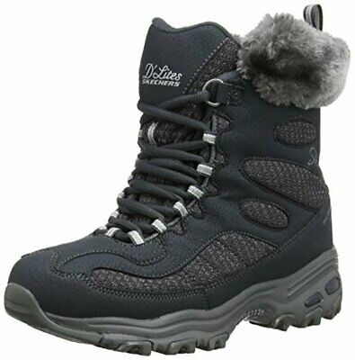 SKECHERS WOMEN'S WOODLAND MID Lace Snow Boot $159.27