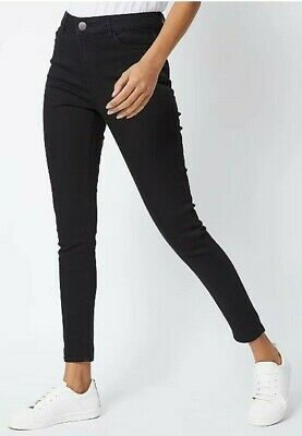 Skinny Slim Jean Jeggings X George Mid Rise Womens Trousers Long Pants S To 4Xl