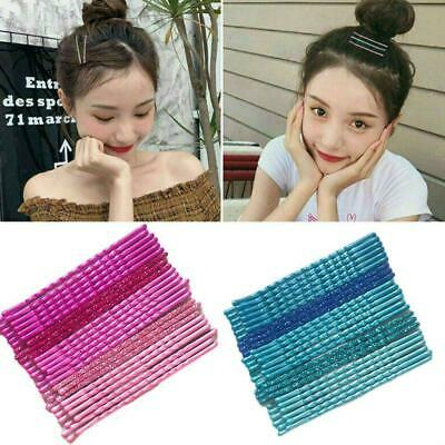 24Pcs/Set Candy Color Hair Clips Bobby Pins Wavy Hairpins Barrettes 2019 Me I5E9