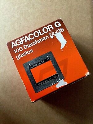 Vintage Agfacolor Dia Frames Without Glass 24x36 Approx 80 Type 5849/600 PHOTO