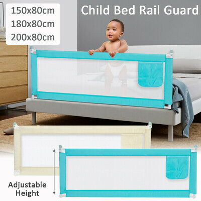 1.5M/1.8M/2M Folding Safety Cot/Bed Rail Guard Sleep Bedrail Baby Infant Toddler