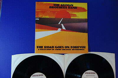 ALLMAN BROTHERS BAND  THE ROAD GOES ON FOREVER Capricorn UK 2 X LP Mint Vinyls