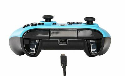 PowerA 2.4m Wired Xbox One Controller - Blue