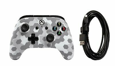PowerA Wired Microsoft Xbox One Controller  - Arctic Frost Camo