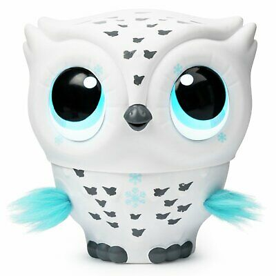 Owleez Interactive Toy White