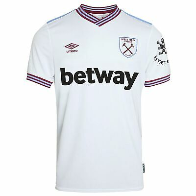 Umbro Official Mens West Ham United FC Away Football Shirt Jersey Top 2019-20