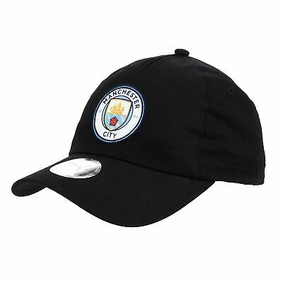 Puma Official Unisex Manchester City FC Football Team Cap Hat Black